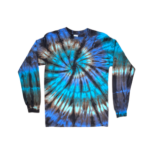 Medium nautilus tie dye long sleeve t shirt  lets do enquiry