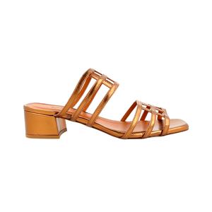 Medium by far shoes double grid bronze
