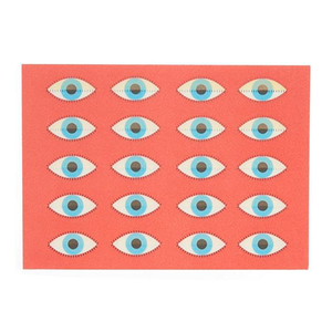 Medium hay 3d postcard blink