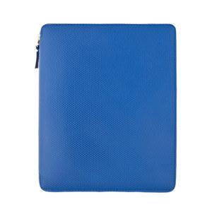 Medium comme des garcon blue ipad wallet