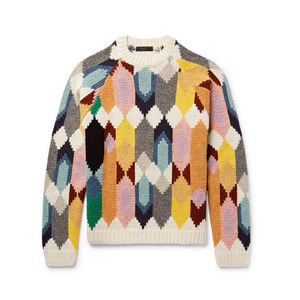 Medium prada shetland wool sweater