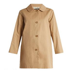 Medium a.p.c dolly cotton blend gabardine coat