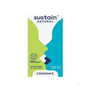 Medium lubricated ultra thin condoms   10 pack