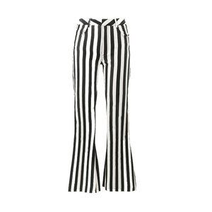 Medium marques almaeida mid rise striped flared trousers