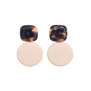 Medium arc earrings