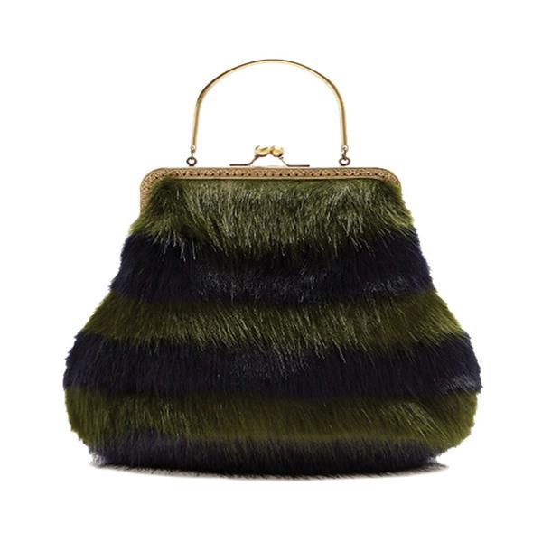 602cef5eef SHRIMPS - Arthur Faux-fur Bag - Semaine
