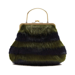 Medium shrimps arthur faux fur bag