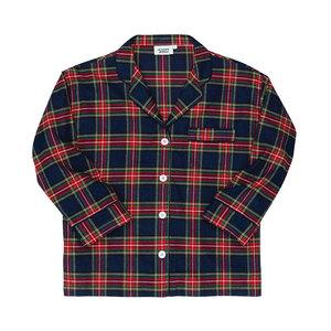 Medium sleepy jones marina pajama shirt