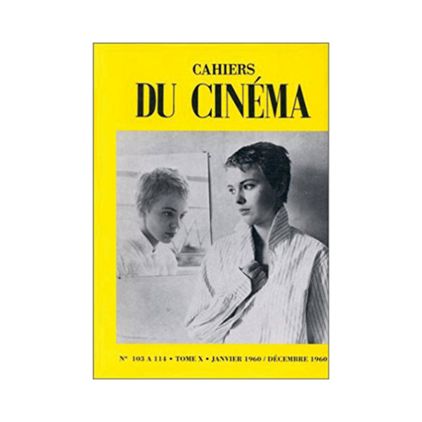 Large  fac simile%cc%81s des cahiers du cine%cc%81ma a%cc%80 couverture jaune