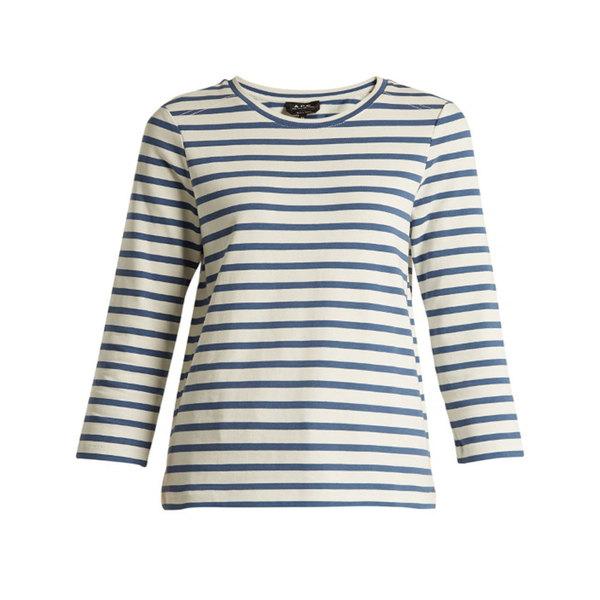 Large apc dream striped cotton top