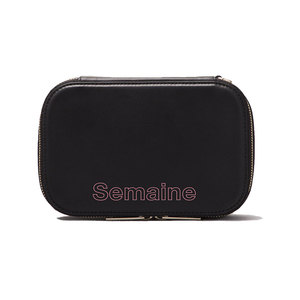 Medium makeup case black