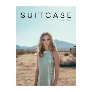 Medium suitcase magazine