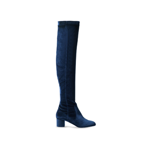 Medium aquzzurra over the knee boots matches