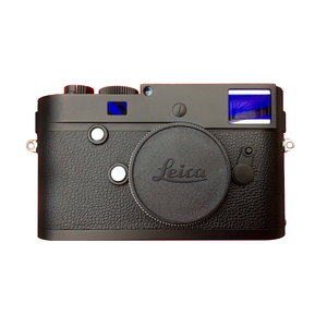 Medium leica m monochrom type 246 digital rangefinder camera body black   mint