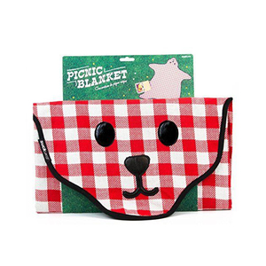 Medium suck uk bear skin gingham picnic blanket