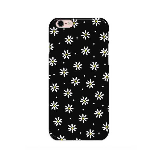Large disguised daisy daisies black flower blossom floral phone case cover all models