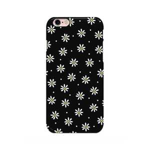 Medium disguised daisy daisies black flower blossom floral phone case cover all models