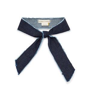 Medium donni charm gigi denim scarf