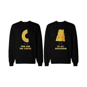 Medium you re the cheese to my macaroni bff matching sweatshirts for best friend