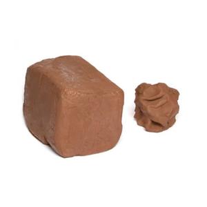 Medium terracotta air drying clay