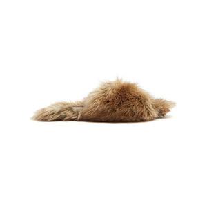 Medium simone rocha fake fur slippers