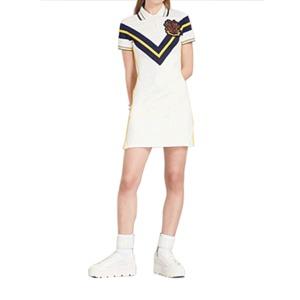 Medium fenty x pumafenty x puma embroidered stretch pique%cc%81 tennis dress