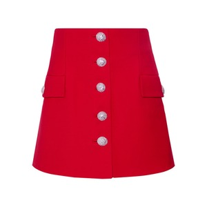 Medium alessandra rich wool crepe mini skirt netaporter