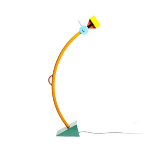 Medium  treetops  memphis milano floor lamp by ettore sottsass