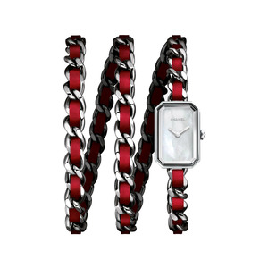 Medium red watch