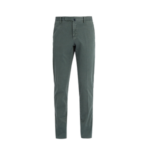 Medium incotex slim leg stretch cotton chino trousers