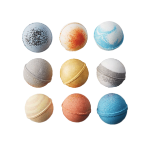 Medium solar system bath bombs set uncommon goods