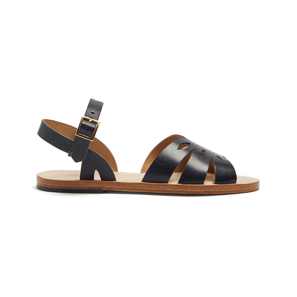 Fast Delivery Online A.P.C Lilia laser-cut leather sandals The Best Store To Get Buy Cheap 2018 Explore Cheap Price Buy Cheap Fashion Style tZ8e3Szq6Z