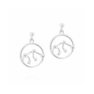 Medium aquarius earrings