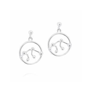 Medium aquarius earrings