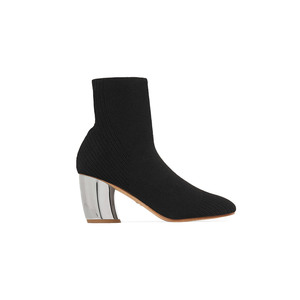 Medium proenza schouler ribbed knit ankle bootie