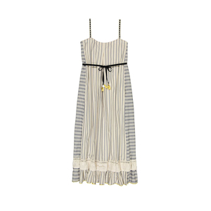 Medium ami fringe maxi dress