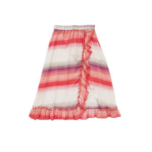 Medium lemlem exclusive banu ruffle skirt sunset