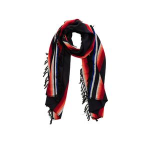 Medium mamo fringe scarf navt