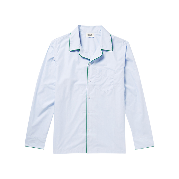 Large net sleepy jones henry end on end cotton pyjama shirt