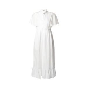 Medium alexa chung ruffled broderie anglaise cotton dress