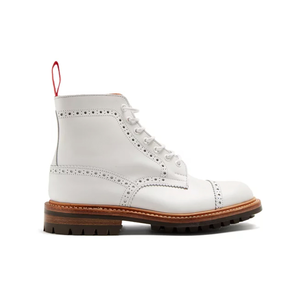 Medium junya watanabe x trickers leather ankle boots