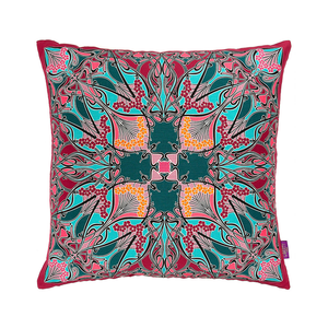 Medium liberty london ianthe silk and linen cushion