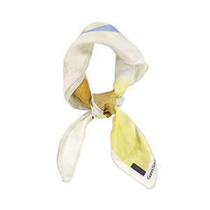 Medium ganni kras silk scarf apollo