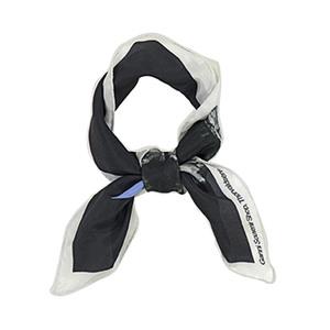 Medium ganni kras silk scarf angel