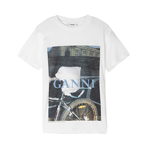 Medium ganni harway tshirt angel