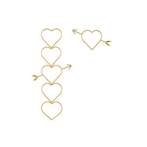 Medium tuza never tear us apart smalllarge earrings