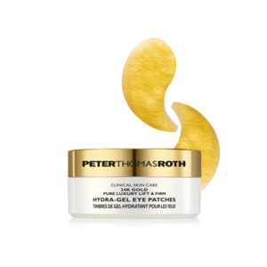 Medium peter thomas roth 24k gold pure luxury lift and firm hydra gel eye patch