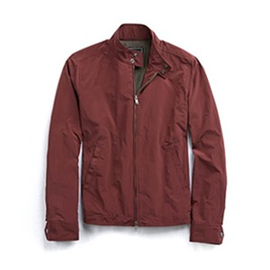 Medium barracuda jacket in burgundy
