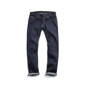 Medium made in l.a selvedge 13.4 oz indigo rinse jean