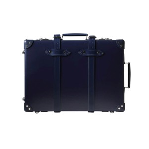 Medium globe trotter centenary trolley case navy